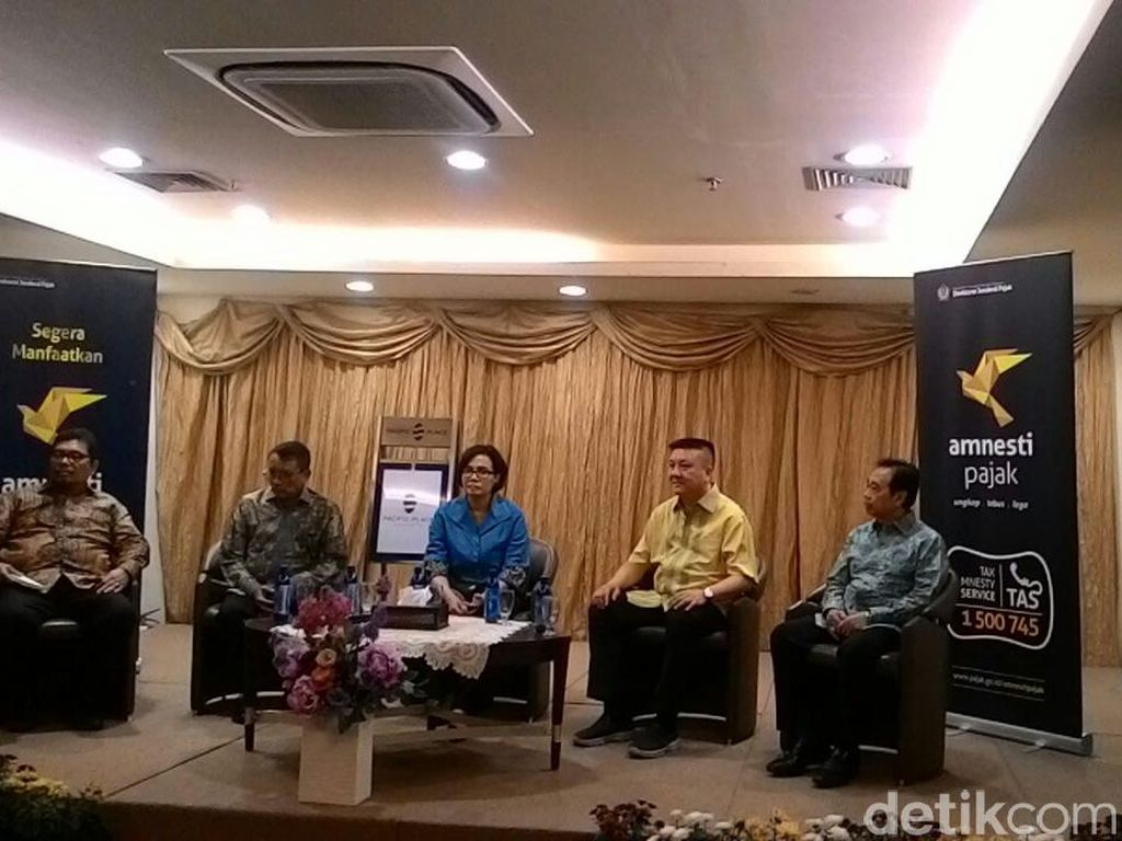 Bertemu Pemilik Gerai di Pacific Place, Sri Mulyani Dicurhati Soal Pajak Impor