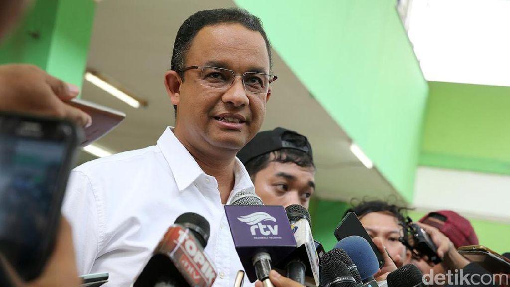 Anies Ragukan Aduan Dugaan Politik Uang dari Bawaslu DKI
