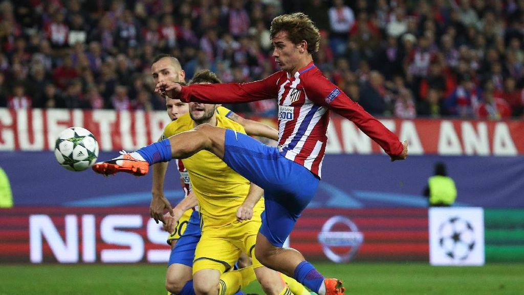 Atletico Taklukkan Rostov di Menit-Menit Akhir, Lolos ke 16 Besar