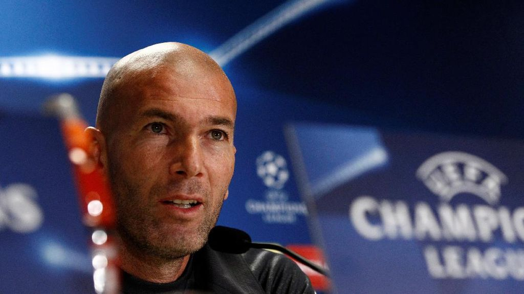 Zidane di Ambang Laga ke-50 sebagai Pelatih Madrid
