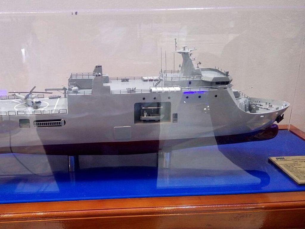 Kapal Perang Made In Surabaya Ini Diekspor Sampai ke Filipina