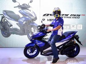 Yamaha: Minat Masyarakat pada Aerox Cukup Tinggi