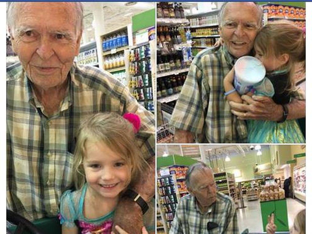 Cerita Persahabatan Bocah 4 Tahun dengan Kakek 82 Tahun yang Jadi Viral