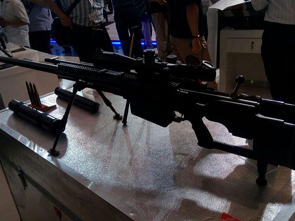 Dibanderol Rp 180 Juta, Sniper Buatan Bandung Ini Bisa Tembus Baja