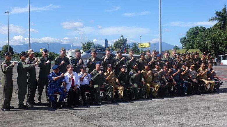 Pilot Tempur AS dan RI Latihan Bersama di Manado, Pertama dalam 19 Tahun