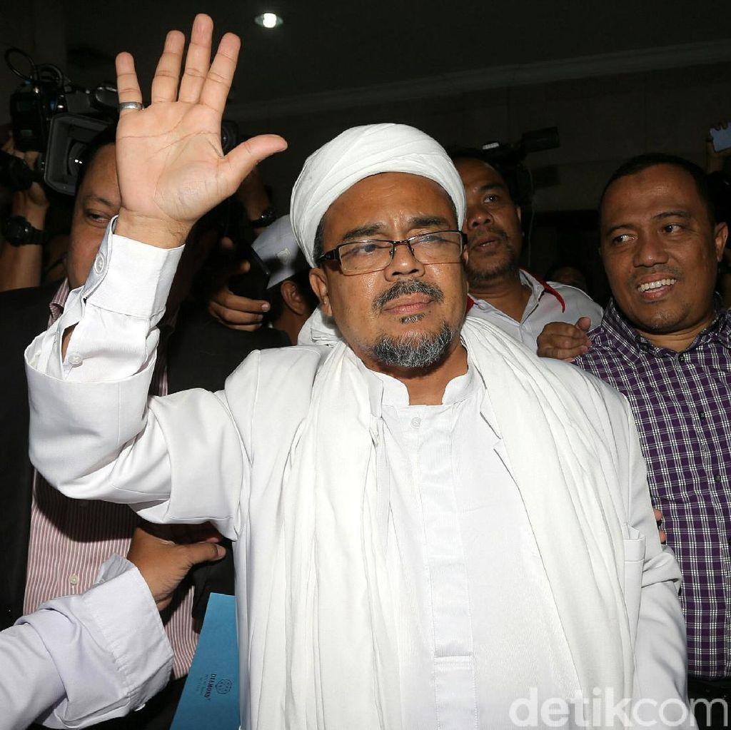 Polda Jabar Naikkan Status Kasus Habib Rizieq ke Penyidikan