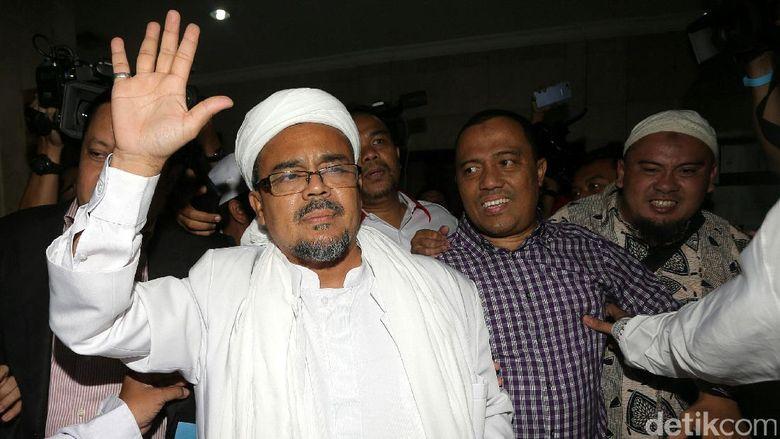 Habib Rizieq: Saya Dicekal, akan Kena Denda dan Blacklist