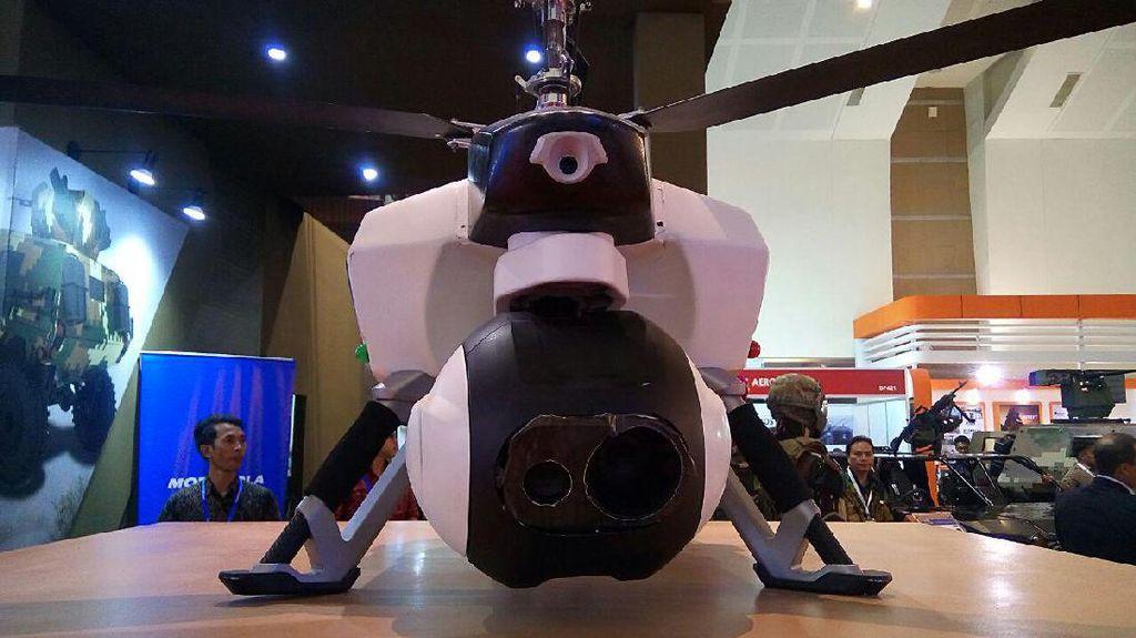 Drone Mata-mata Buatan RI Bisa Menjelajah Hingga 50 Km