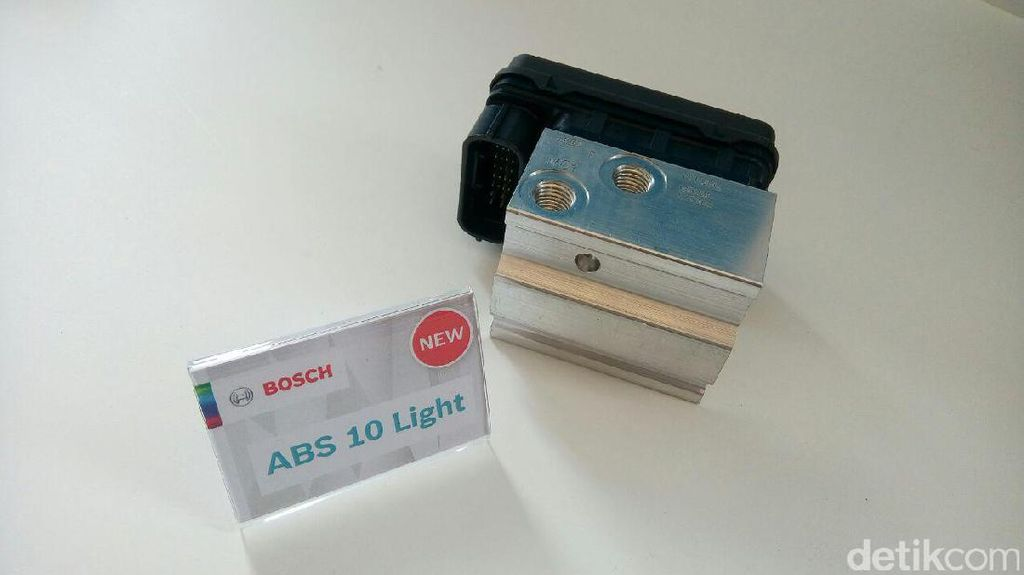 Sistem ABS Bosch, Bisa Dipasang di Motor Kecil