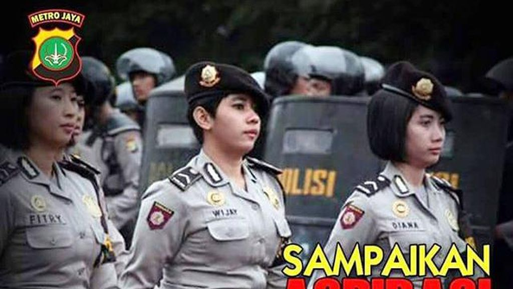 Polisi Serukan Demo Damai di Instagram