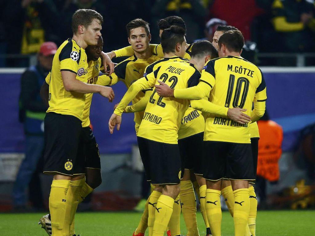 Dortmund Pastikan Lolos ke 16 Besar Usai Kalahkan Sporting