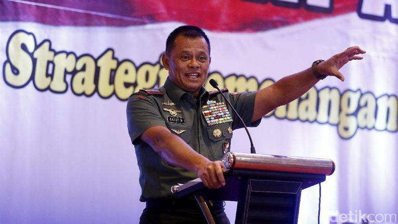 Panglima TNI Gagas Aksi Ikat Kepala Merah Putih
