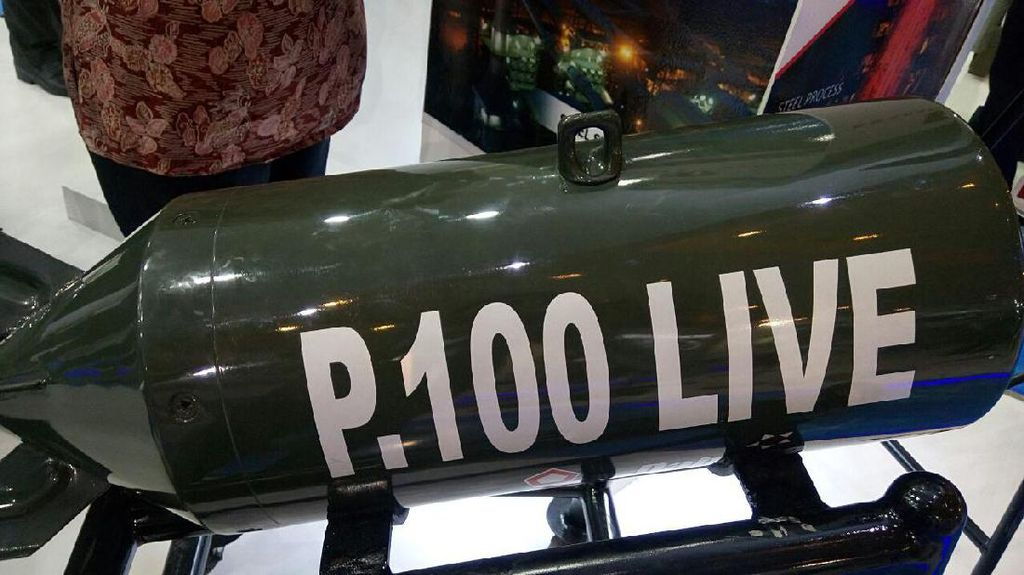 Bom Sukhoi Buatan Subang, Daya Ledak Seluas Lapangan Bola