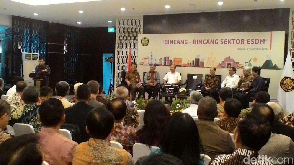 Malam-malam, Jonan Kumpul Bareng Bos Perusahaan Energi dan Mantan Menteri ESDM