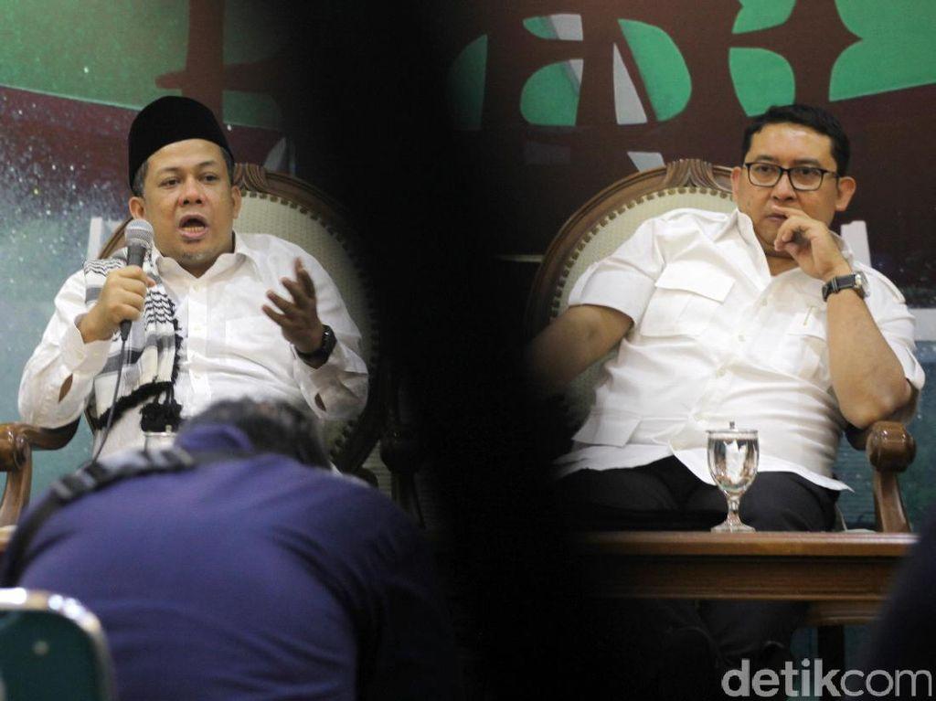 Charta Politika: Fahri dan Fadli Pimpinan DPR Paling Dikenal