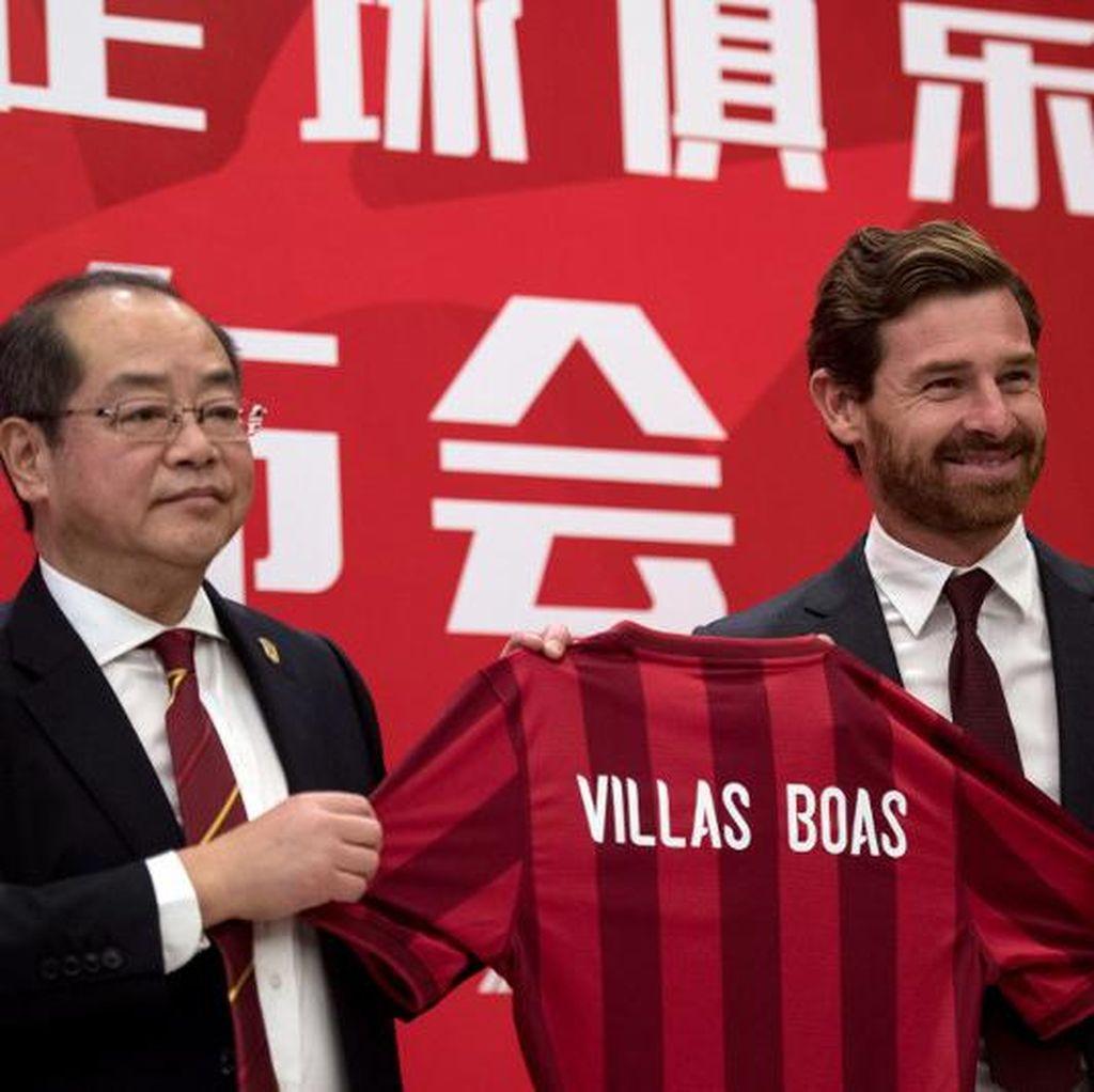 Villas-Boas Pertanyakan Aturan Liga China yang Mendadak Berubah