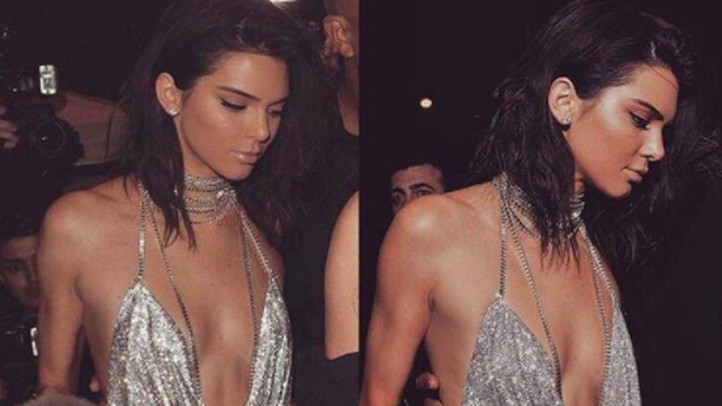 Berhias Swaroszki, Baju Ulang Tahun Kendall Jenner Dibuat Sampai 1 Minggu
