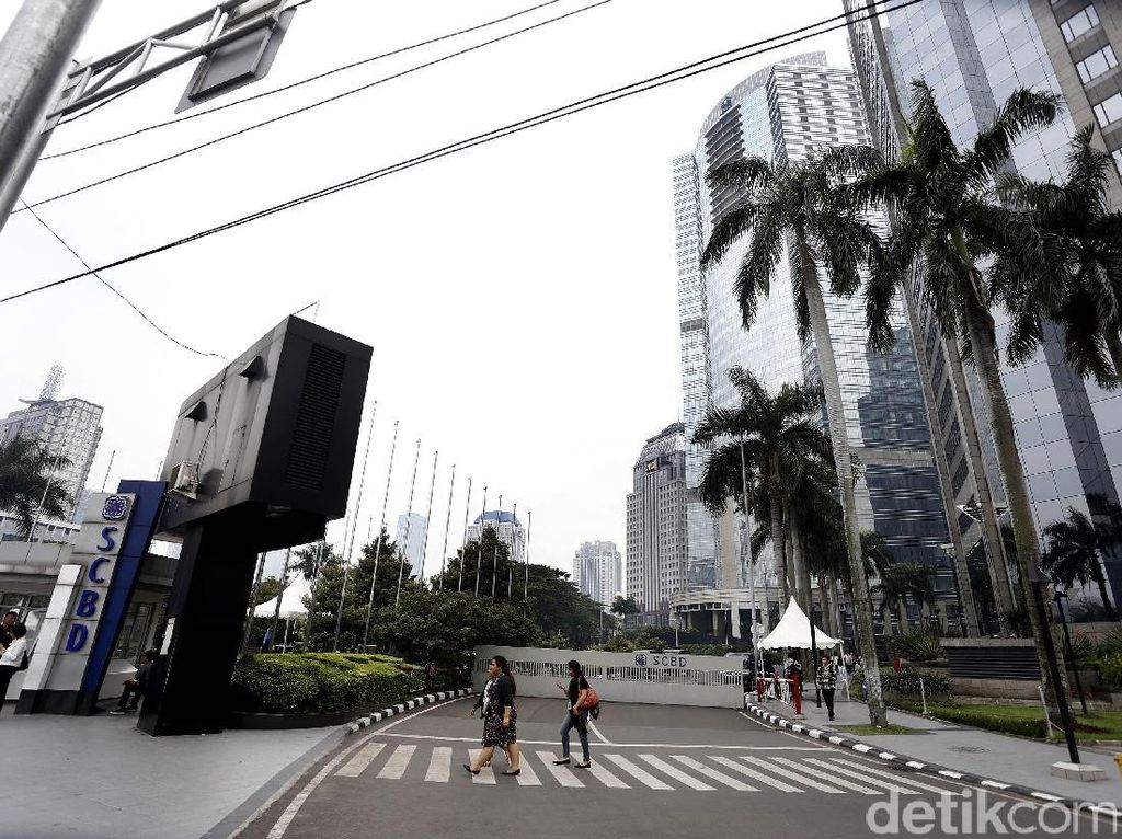 Ruang Perkantoran di Pusat Bisnis Jakarta Banyak yang Kosong