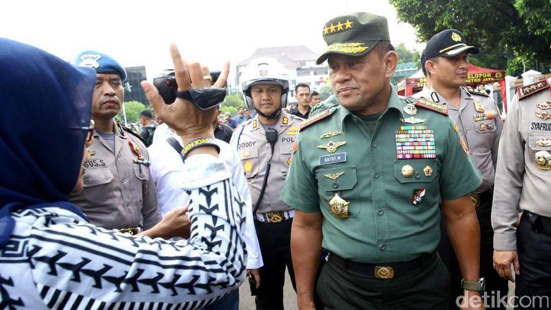 Panglima TNI Tepis Isu Miring Ditegur Presiden