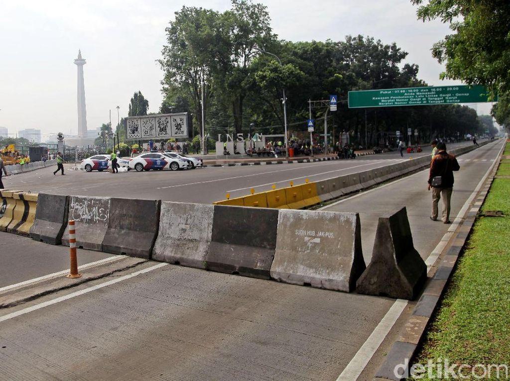 Ada Jakarnaval, Sejumlah Ruas Jalan Sekitar Monas Ditutup Minggu 30 Juni