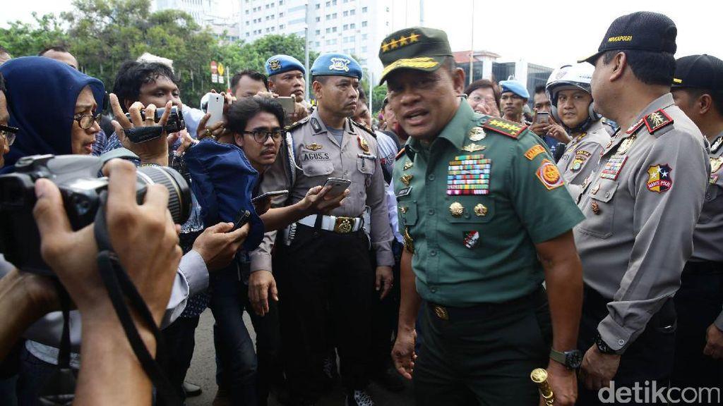 Purnawirawan Jadi Tersangka Makar, Panglima: Mereka Bukan TNI
