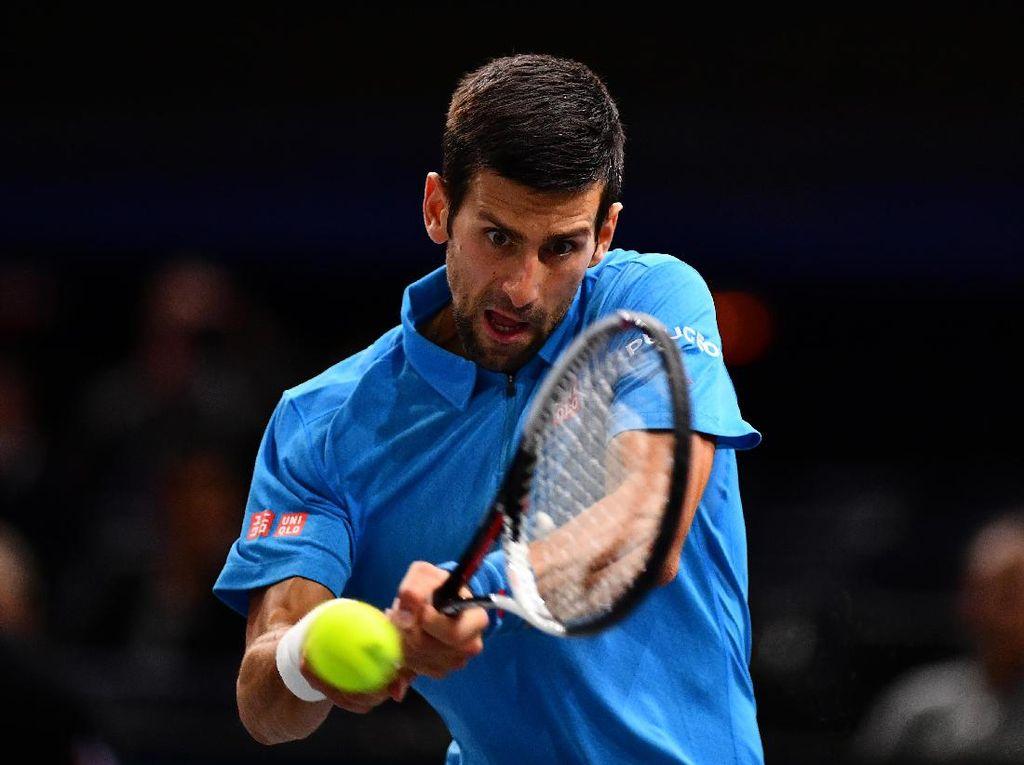 Djokovic Dihentikan Cilic di Perempatfinal