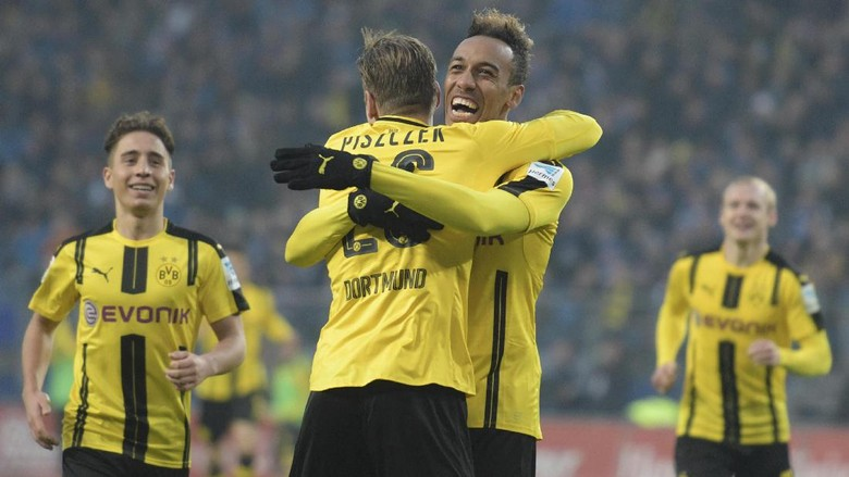 Aubameyang Penting Bagi Dortmund