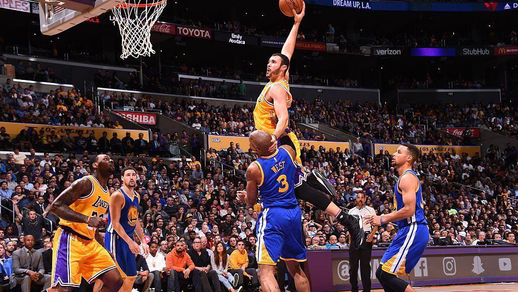 Tampil Konsisten, LA Lakers Kalahkan Warriors