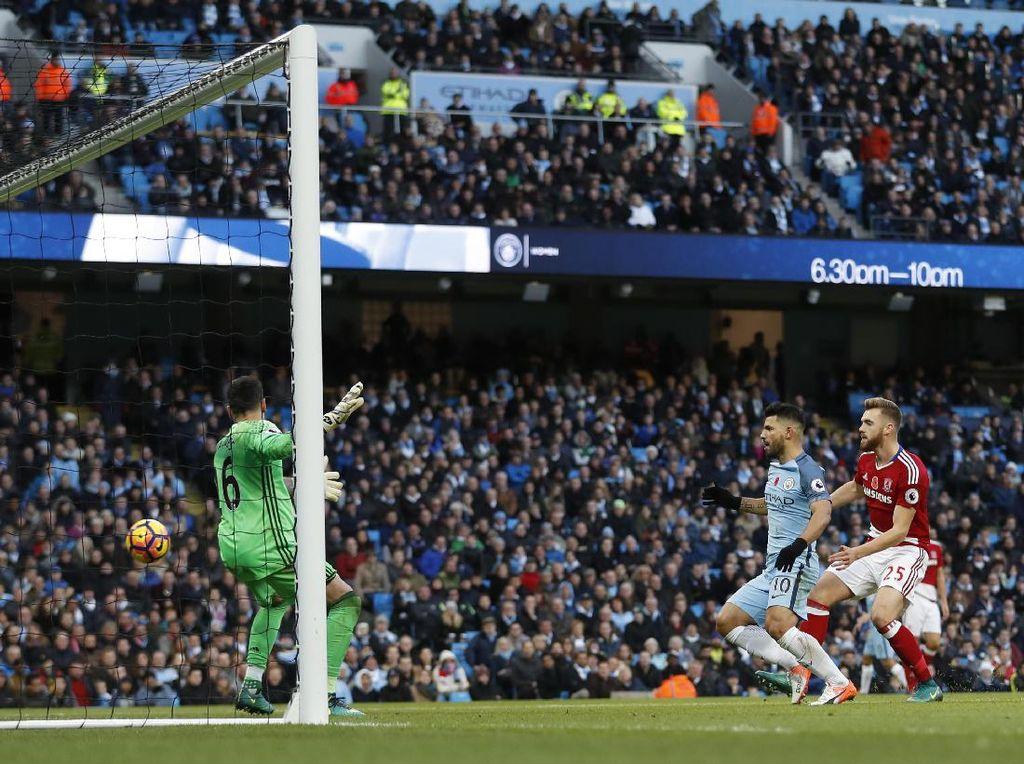 Gol Middlesbrough di Injury Time Buyarkan Kemenangan City