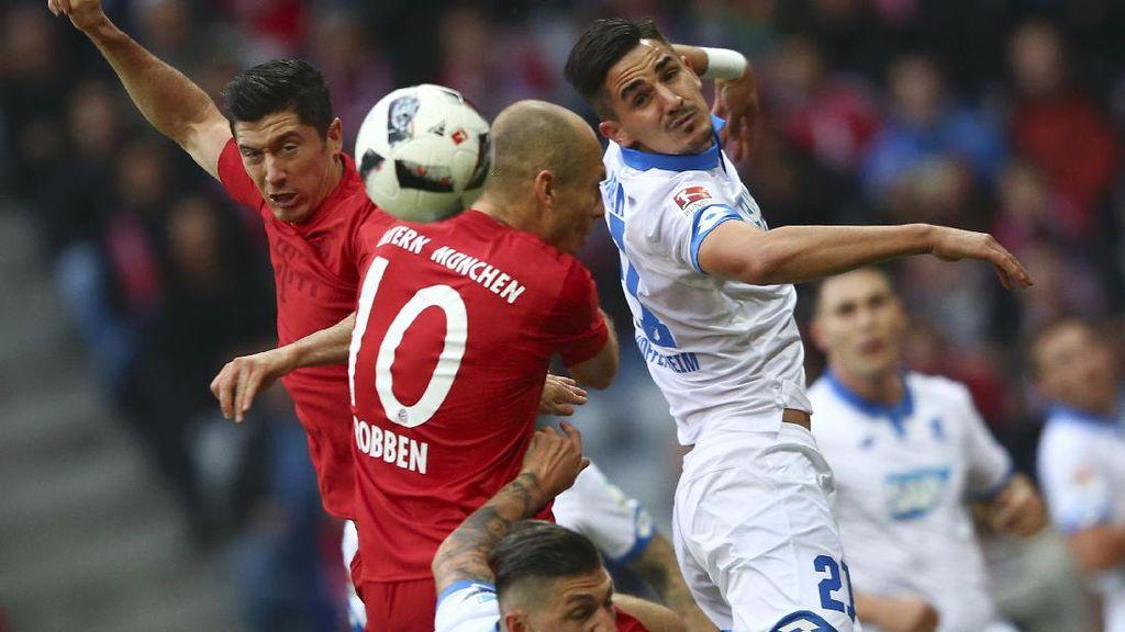 Bayern Berimbang dengan Hoffenheim, Sama-Sama Belum Terkalahkan
