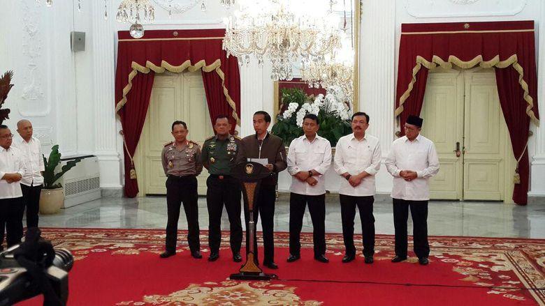 Jokowi: Terima Kasih Ulama dan Habib yang Pimpin Umat dengan Menyejukkan