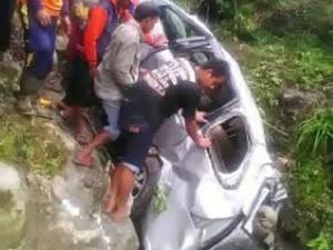 Penyelidikan Mobil Mahasiswa UGM Masuk Jurang, Polisi Tunggu Korban Pulih