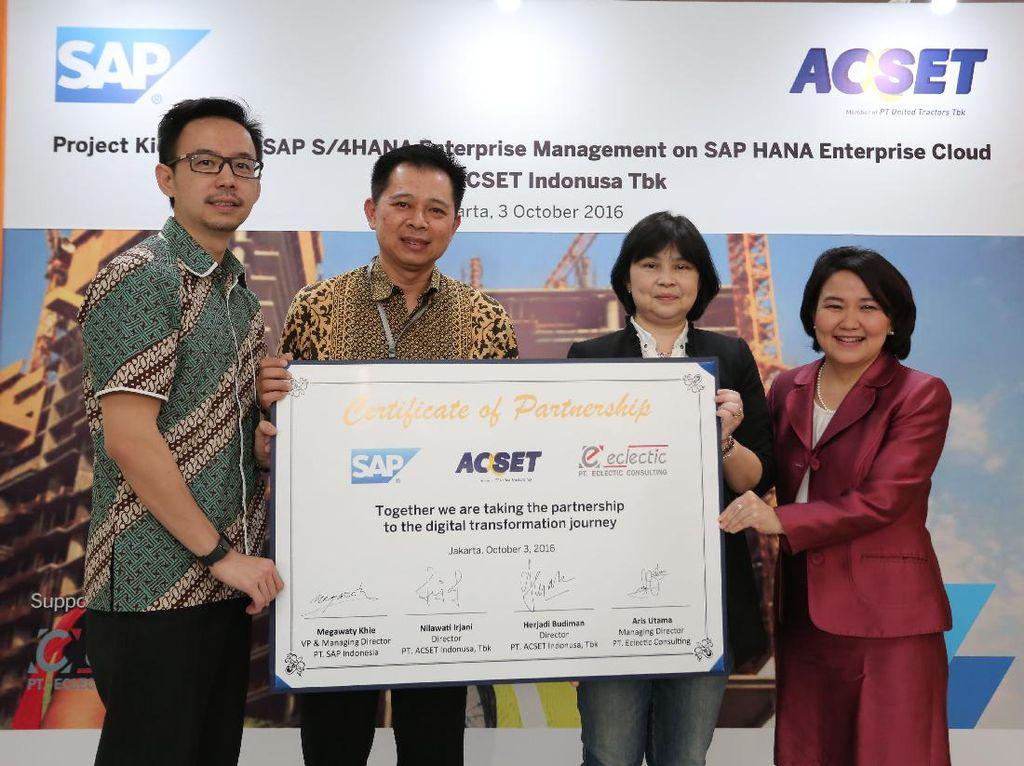Industri Konstruksi Jadi Lahan Baru SAP