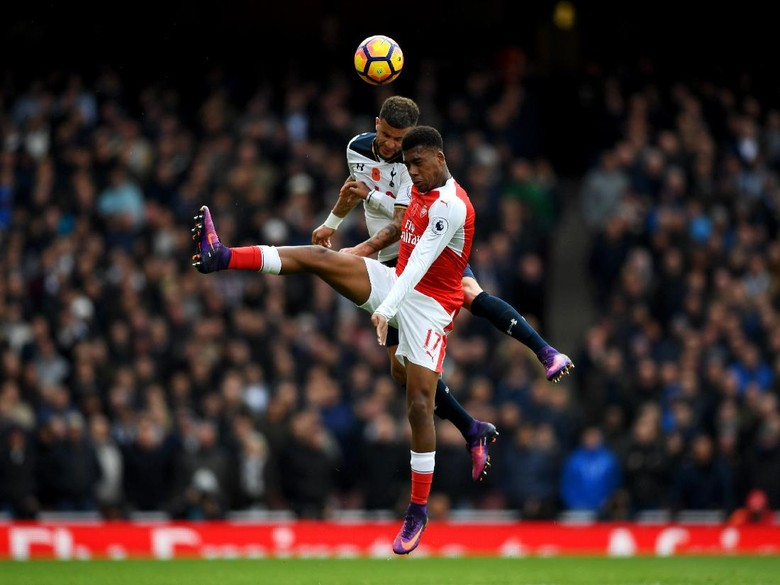 Arsenal Yang Bermain Imbang Melawan Tottenham 1-1
