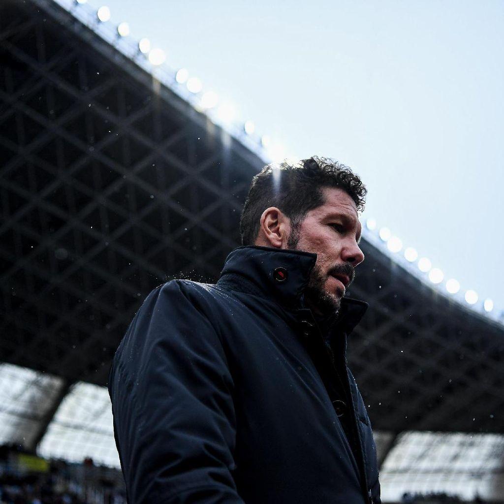 Catatan Oke Simeone Jelang Laga ke-300 di Atletico
