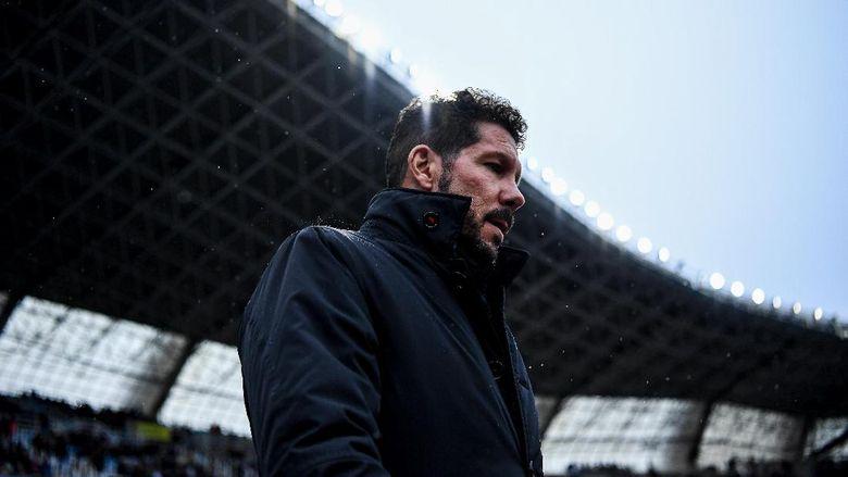 Simeone Yang Tak Mau Mencari Alasan Saat Atletico Kalah