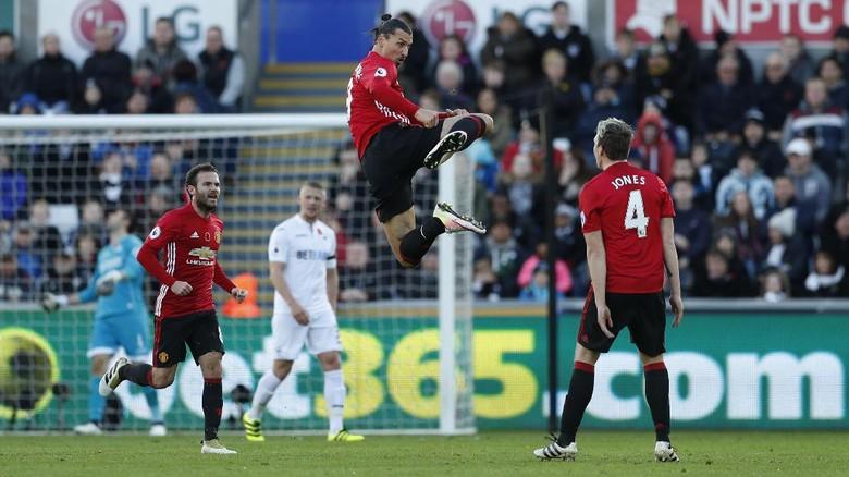 MU Taklukkan Swansea Dengan Skor Akhir 3-1