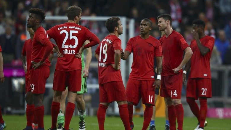 Hasil Seri pertandingan Bayern Munich vs Hoffenheim