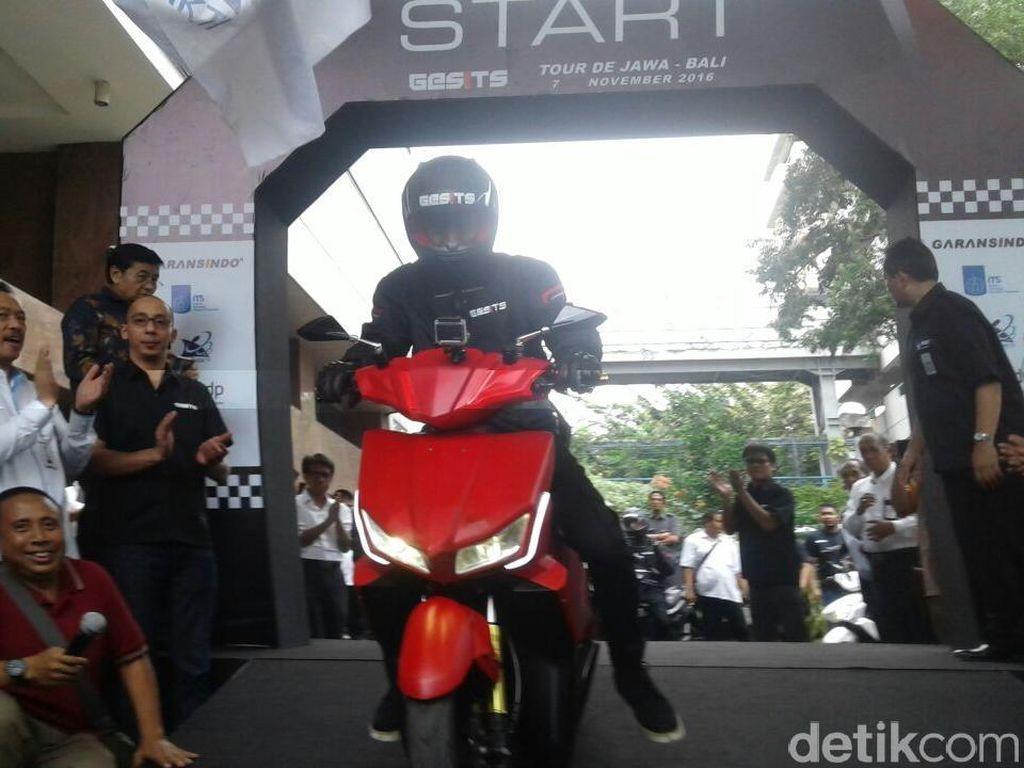 Motor Listrik Gesits Siap Jelajah Jawa-Bali