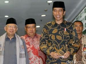 Ucapan Terima Kasih Jokowi Usai Temui Pengurus PBNU