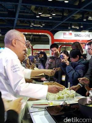 Saat Aneka Soto Menggoyang Lidah Publik Korea, 550 Porsi Ludes dalam Sehari