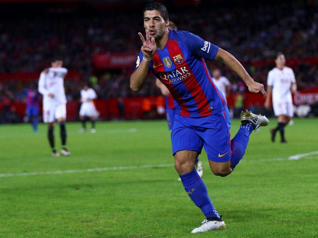 Barca Bawa Kemenangan dari Markas Sevilla