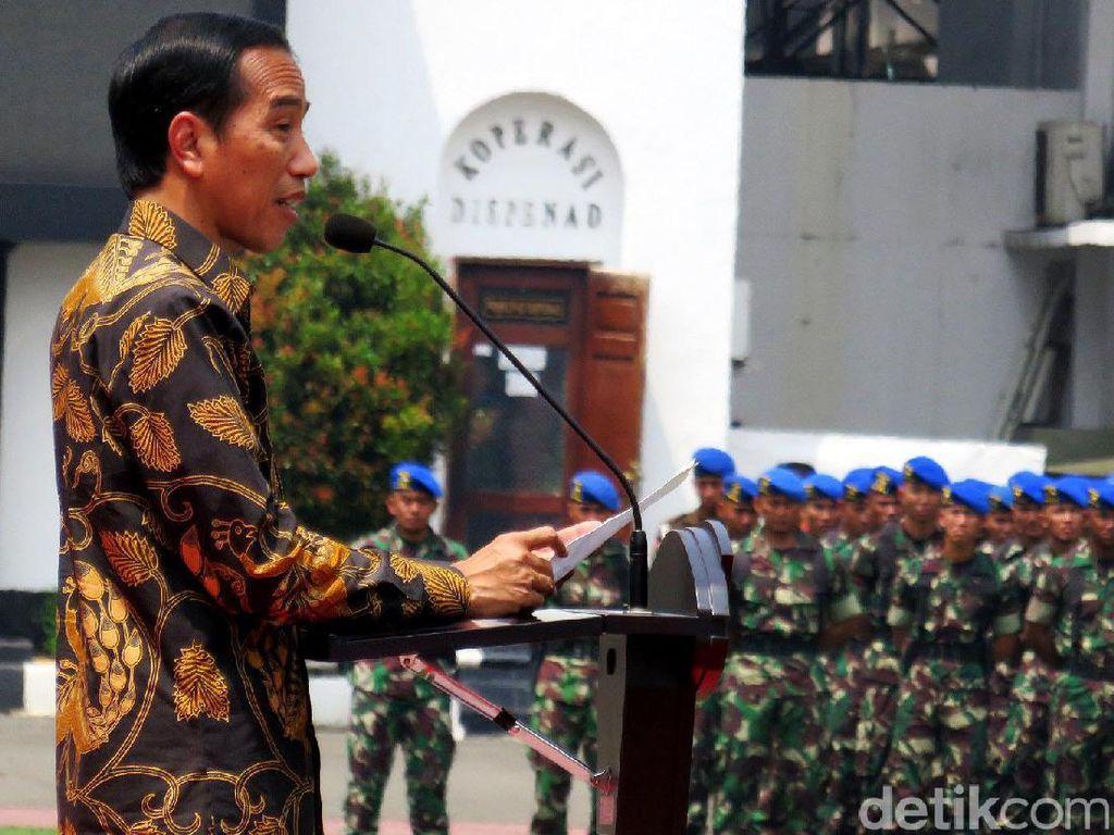 Jokowi akan Aktifkan Antiteror Super Elite TNI dengan Catatan