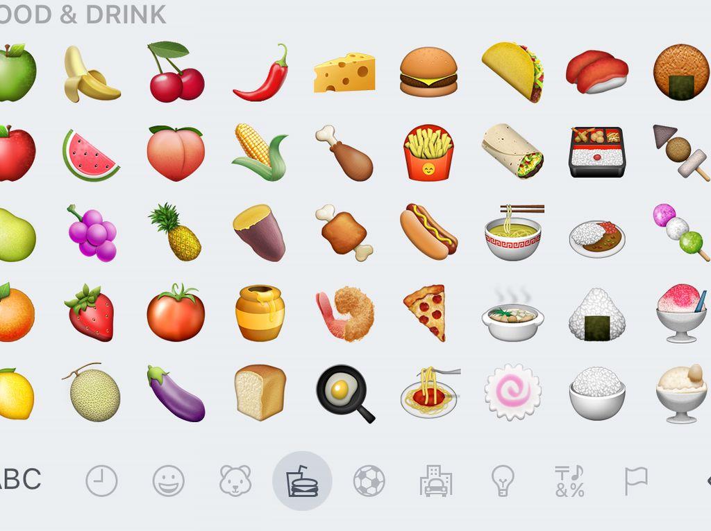 Emoji Makanan yang Paling Disukai Bisa Cerminkan Karakter Anda