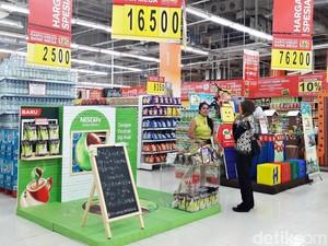 Beli Quaker Oatmeal di Transmart Carrefour Gratis Gula Pasir