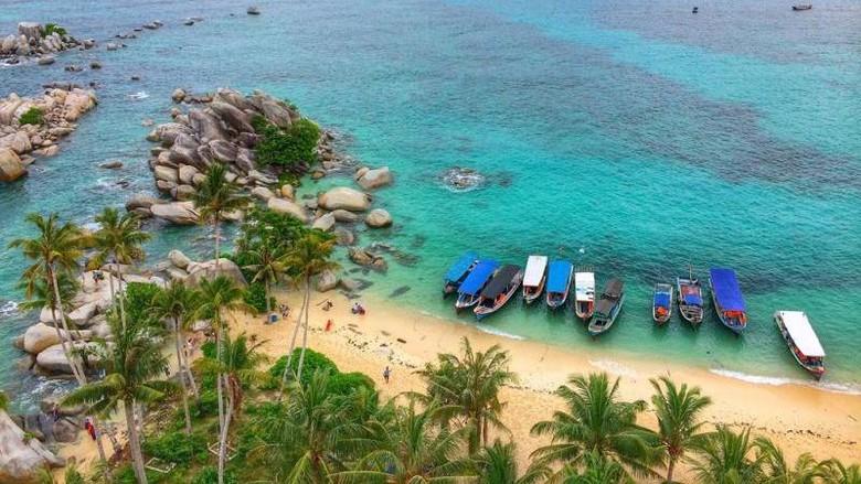 Ilustrasi Pulau Belitung (Endah Yustitia/dTraveler)