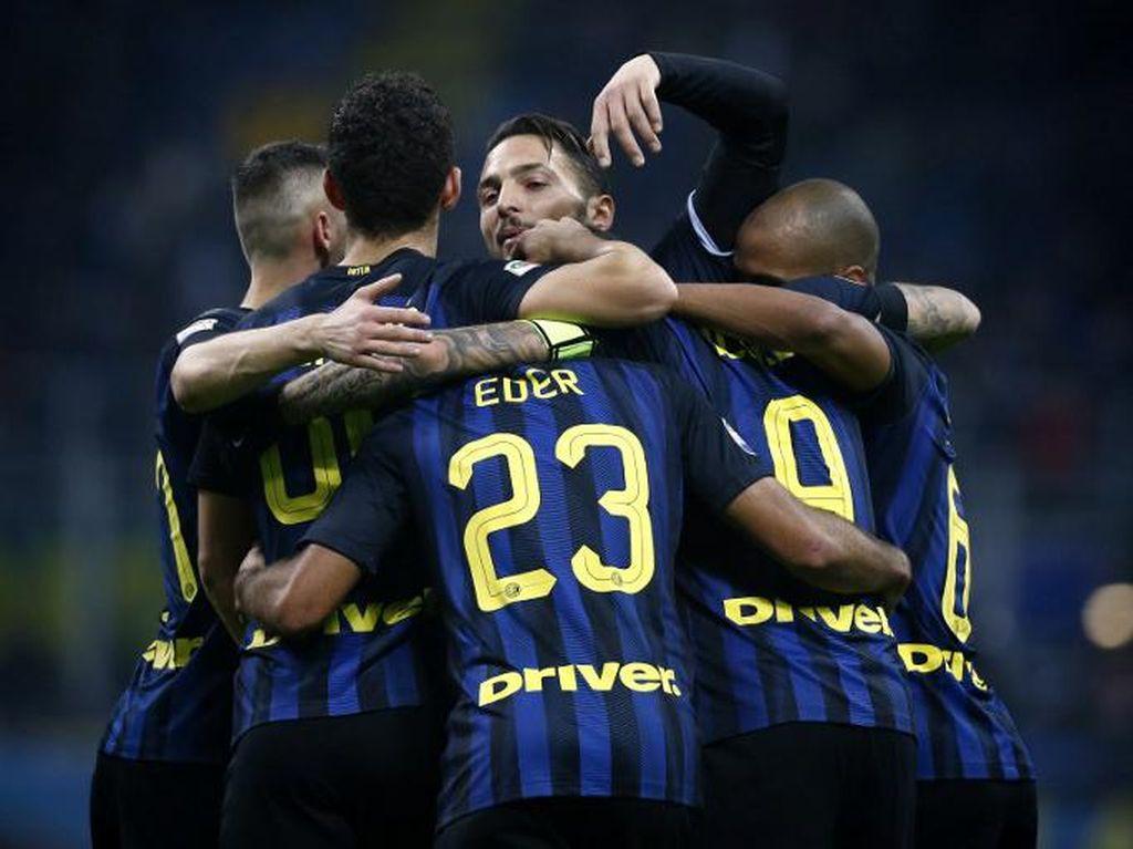 Inter Tetap Targetkan Lolos ke Liga Champions