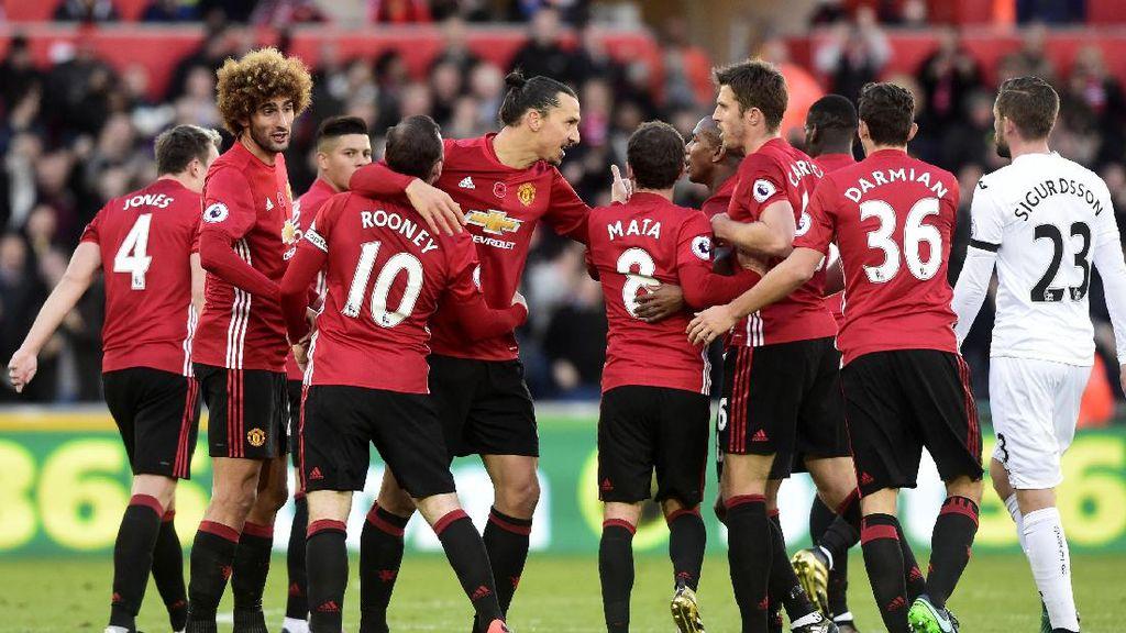 Mourinho Punya Rekor Oke atas Swansea