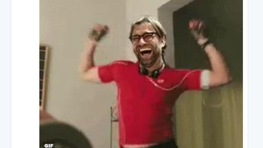 Fans Liverpool Luapkan Kegembiraan di Dunia Maya