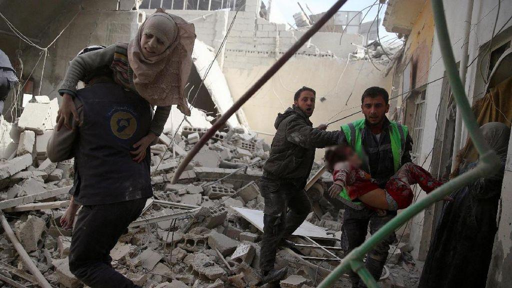 RS Militer Rusia di Suriah Diserang, Seorang Petugas Medis Wanita Tewas